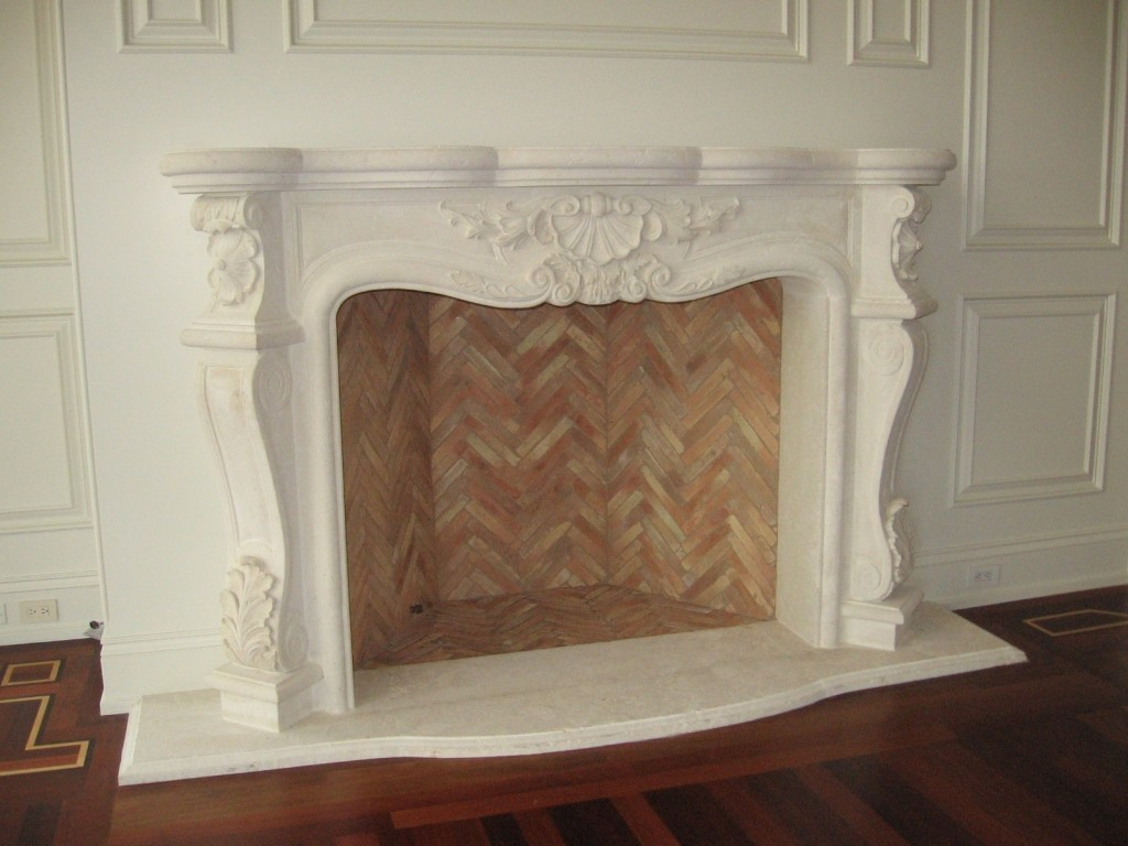 custom fireplace mantel designs limestone carvings
